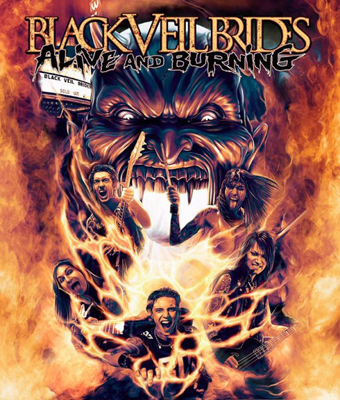 Black Veil Brides DVD